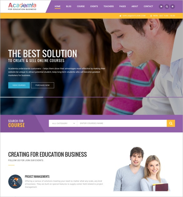 education teaching center wordpress theme 59
