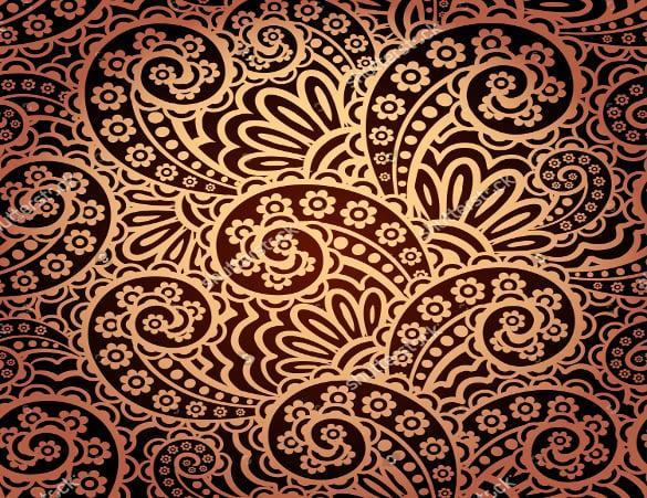 golden paisley pattern download