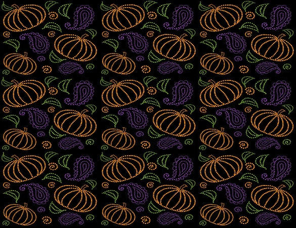 paisley pumpkin pattern download