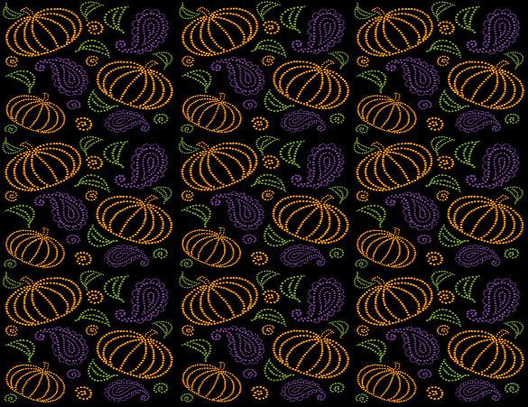 paisley pumpkin pattern download
