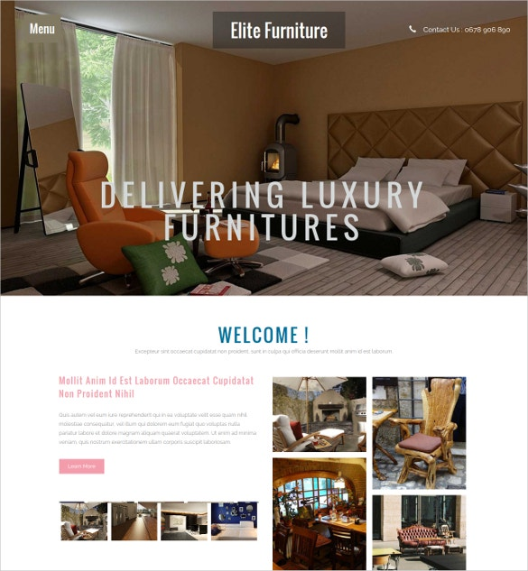 Interior Architects Bootstrap Responsive Website Template Free Demo Download