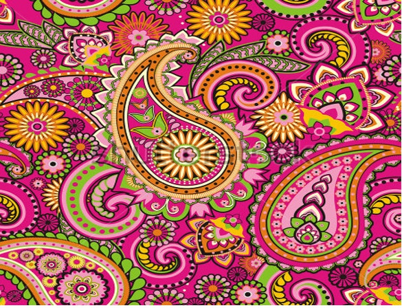seamless pattern based on traditional asian elements paisley for download