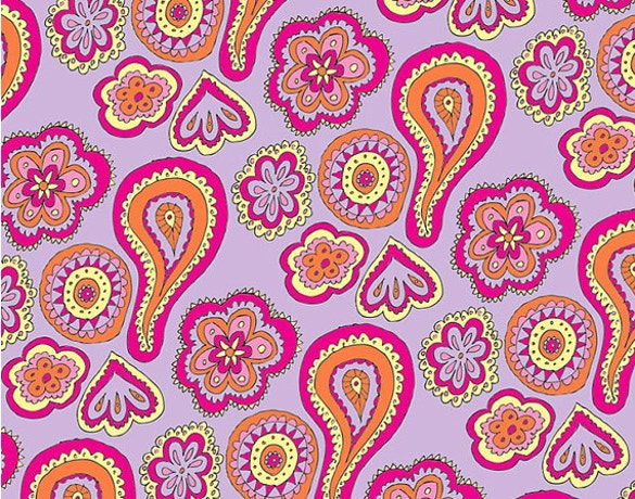 paisley pattern in pink color free download