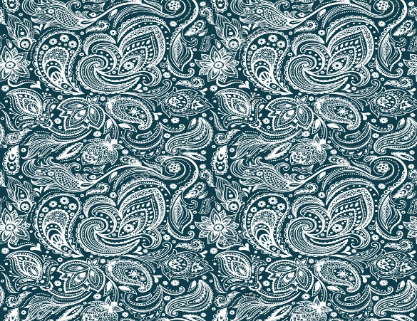 beautiful vintage paisley seamless pattern download