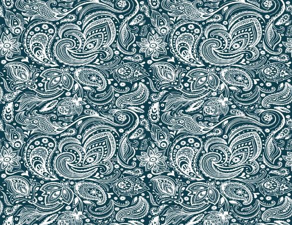 beautiful vintage paisley seamless pattern download