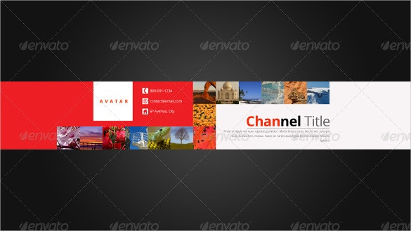 3 in 1 youtube background template download