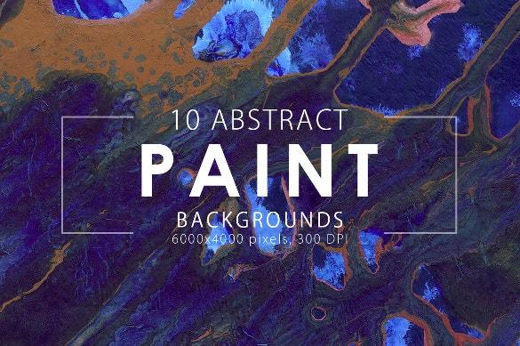 10 abstract paint background template