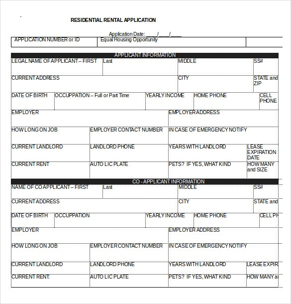 Rental-Application-in-Word-Format-Download Job Application Form Template Microsoft Word on book writing, process document, swot analysis, free greeting card, cover letter, door hanger, project proposal,