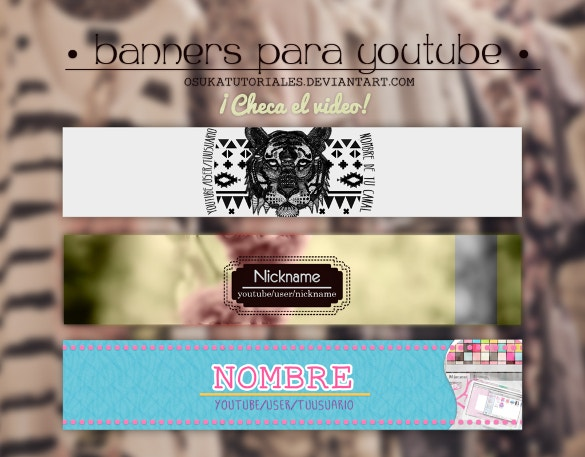 para youtube banner for free download