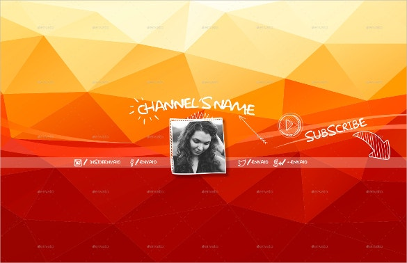 coorful youtube banner download
