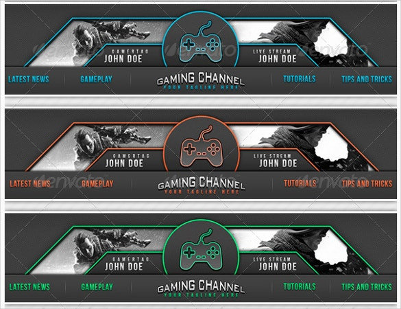 25+ YouTube Banner Templates – Free Sample, Example, Format ...