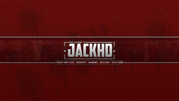 free gaming youtube banner download