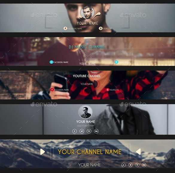easy to download youtube banner