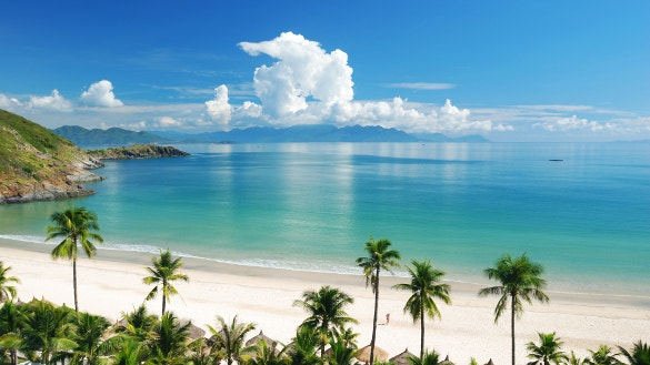 tropics beach wallpaper for download