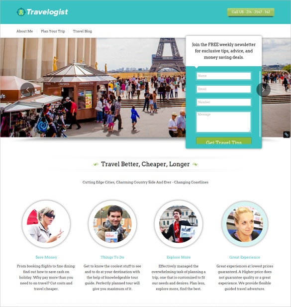 54 travel wordpress themes templates for travel blogsvacation if you are in a business area like conducting organized tours as the tour guide giving reviews on tour tips travel bloggers interpreters and travel pronofoot35fo Image collections