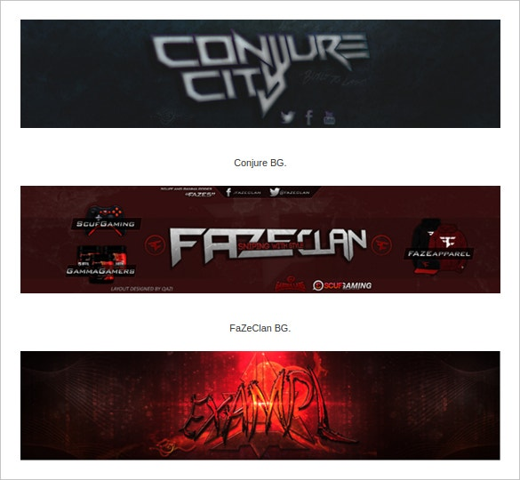 youtube channel art free download