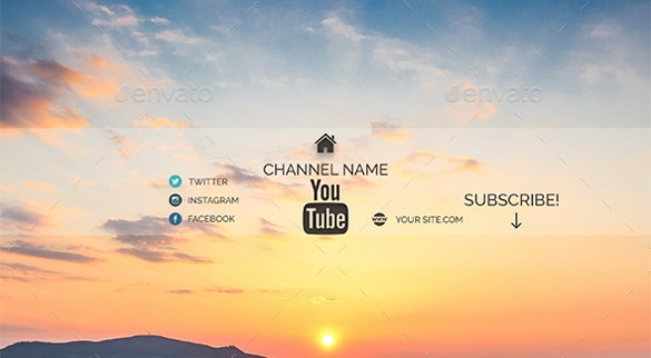 22 youtube channel art templates free sample example format if you want to create an attractive channel it is worth using this sample art it features a lovely sky with a rising sun it is readily available for pronofoot35fo Images