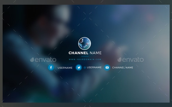 sample youtube channel art download