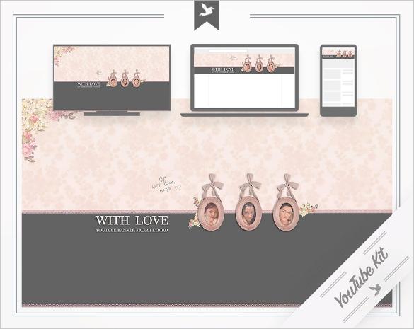 jewllery theme youtube channel art download