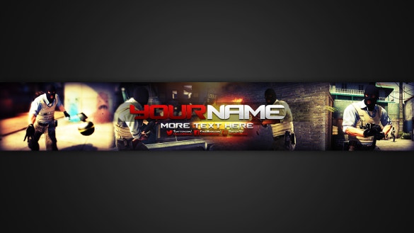 3d youtube channel art download
