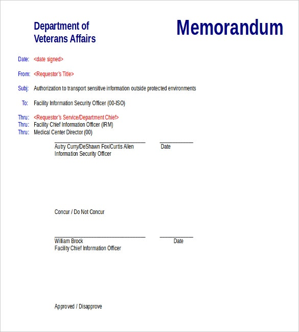 Perfect Atlanta.va.gov | The Best Part About This Blank Memo Template Is That There  Are Instructions On There Which Can Help You Out.