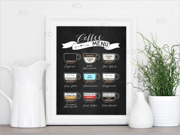 Cafe Menu Template 41 Free Word Pdf Psd Eps
