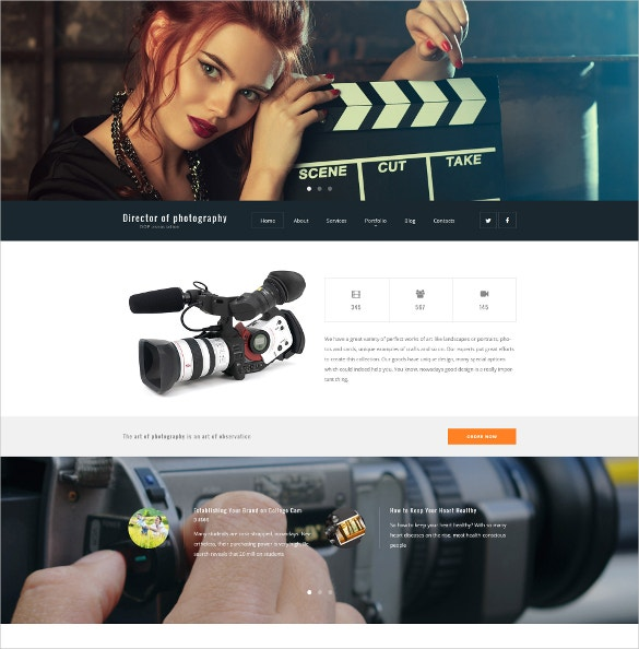 director of photography wordpress theme 40