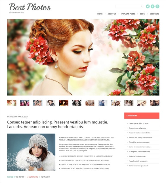best photos art portfolio blog wordpress theme 38