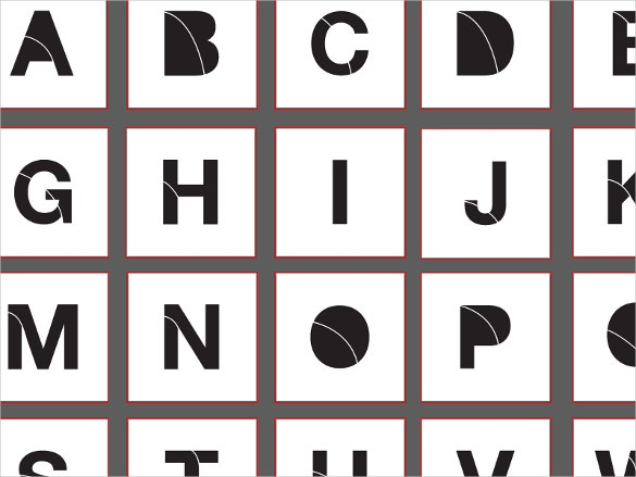 stencil alphabet free download