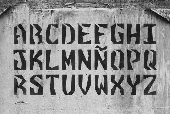 clasto stencil fonts free download