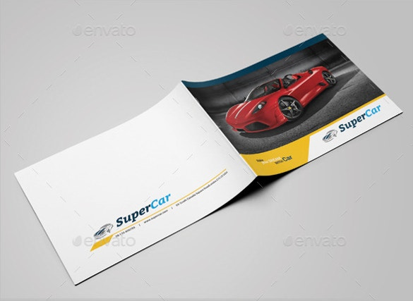 sports car brochure download