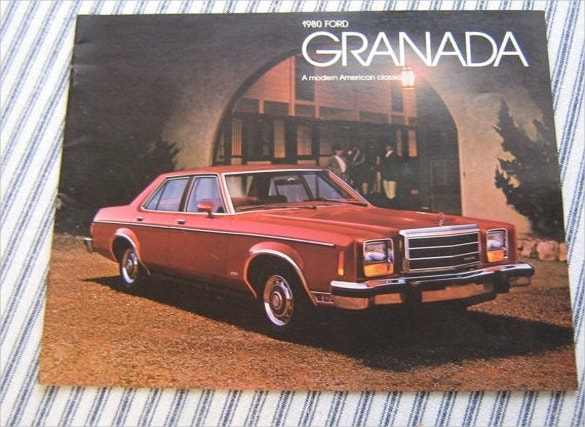 ford granada car brochure download