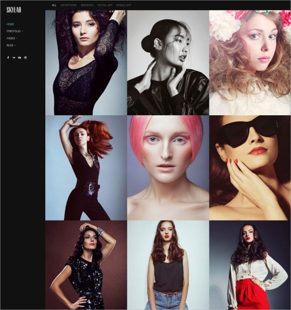 modern portfolio art photography wordpress theme 49