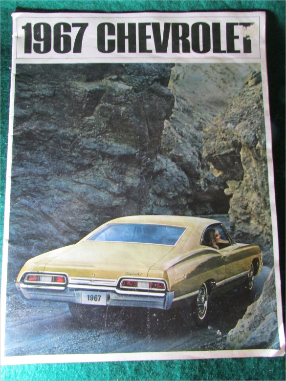 superb 1967 chevrolet car brochure download