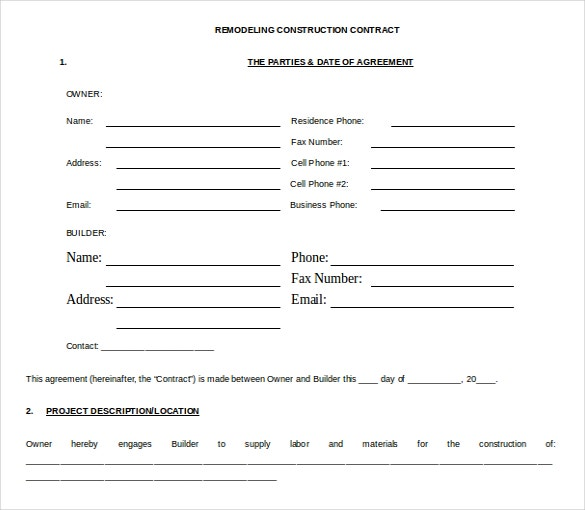 Microsoft Contract Templates Free Download  PetitComingoutpolyCo