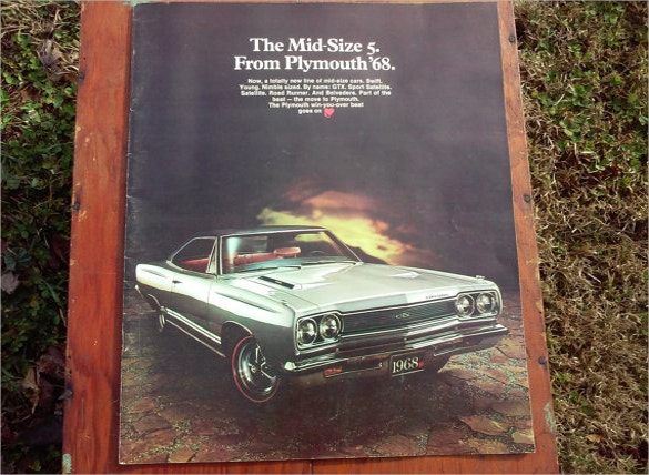 mopar muscle car brochure download