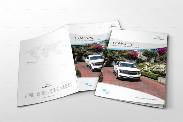 electric car corporate brochure download