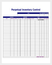 Download Inventory Tracking Control Template Excel Format