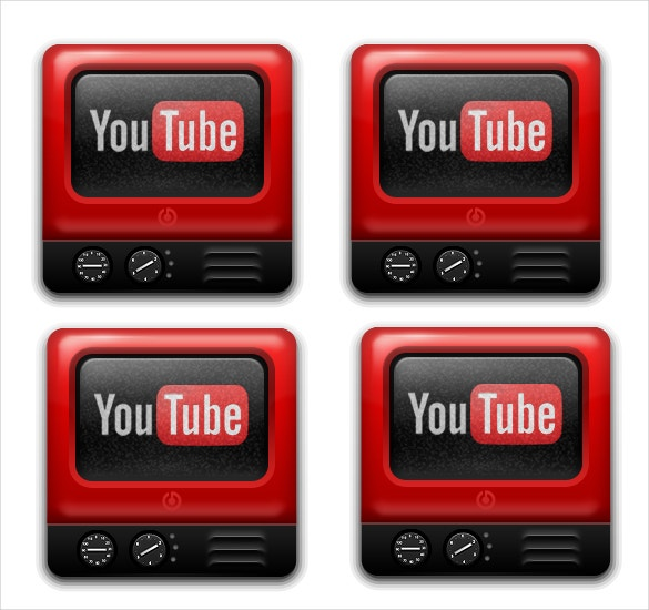 tv theme youtube icon free download