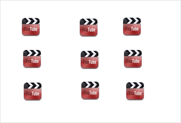 free sample youtube icon free download