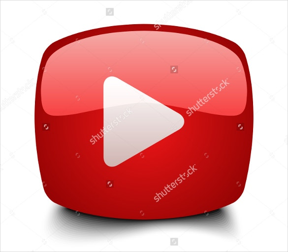 example play button youtube icon free download