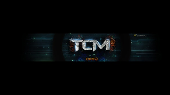 black background youtube header free download