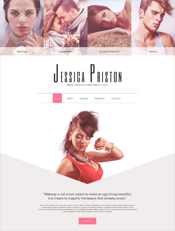 the best website template to get in shape