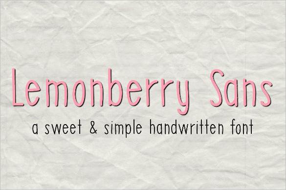 Handwritten fonts u free ttf otf format download free