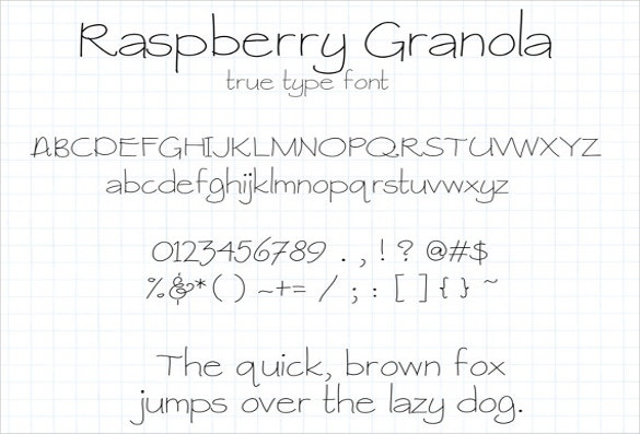 Digital Handwritten Fonts Download