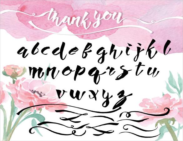 artistic handwritten fonts download