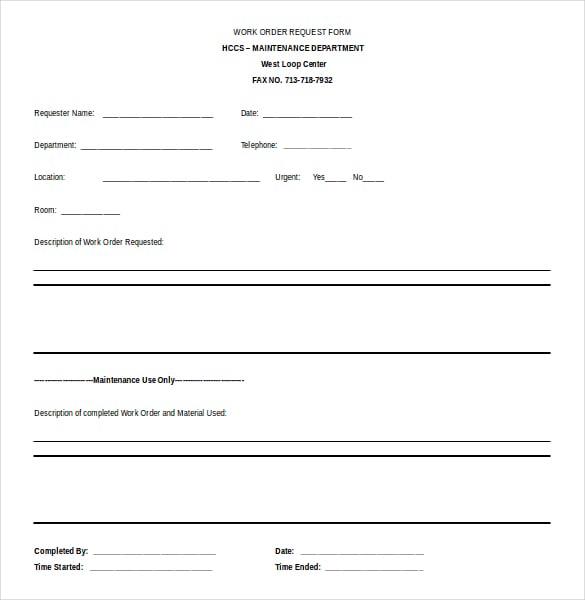 job order form template | trattorialeondoro
