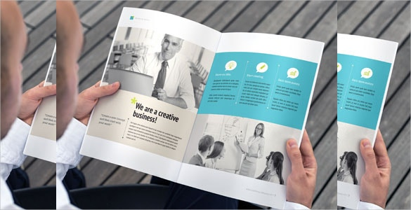 16 pages business indesign brochure template