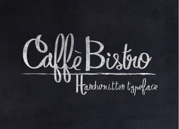 caffèbistro handwritten fonts download