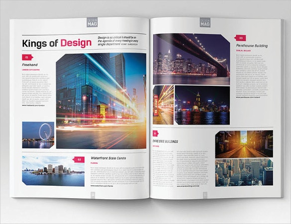 Pr f rence maquette magazine indesign tj57 montrealeast for Magazine layout templates free download